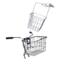 Wald 3114 Compact Q-R Bolt-On Front Handlebar Bike Basket