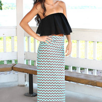 Not a Moment Too Soon Maxi Skirt-Restock