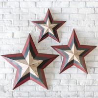Metal Americana Decorative Stars - Plow & Hearth