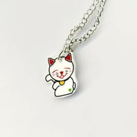 Lil' Lucky Cat by lookmeem on Etsy