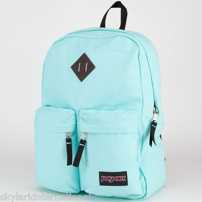 Similiar Mint Green Jansport Backpack Multiple Zippers Keywords