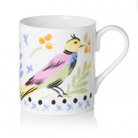 Collier Campbell Birdy Border Mug | Dining & Tableware | Living | Homeware | Oliver Bonas
