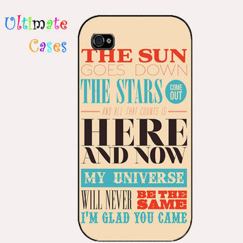 iphone 4s case   Glad You came by ultimatecases on Etsy