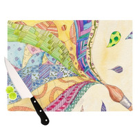 "Catherine Holcombe ""The Painted Quilt"" Cutting Board 