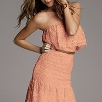 Strapless Lace Dress - Victoria&#x27;s Secret