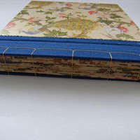 Little Photo Album With Silk Edging And Peacocks - Ready To Ship