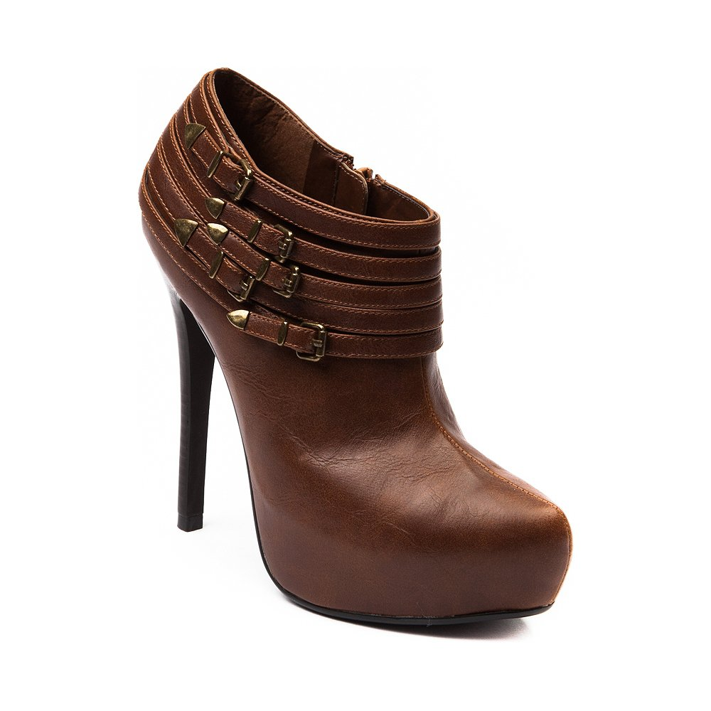 womens g by guess lazer heel cognac from journeys boots