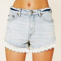 Free People  Lacey Denim Cutoff Shorts at Free People Clothing Boutique