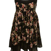 Floral Hanky Hem Dress - View All  - Dresses  - Miss Selfridge