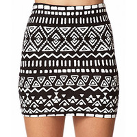 Night Moves Tribal Skirt | FOREVER 21 - 2073168872