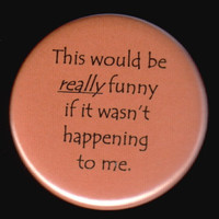This Button Is Not Amused by kohaku16 on Etsy