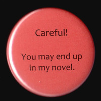 Warning Button by kohaku16 on Etsy