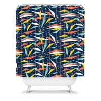 DENY Designs Home Accessories | Heather Dutton Swizzlestick Party Girl Shower Curtain
