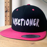 1D Snap Back Hat.  Choose your colour and customize by SnappyD