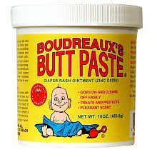 Boudreaux&#x27;s Butt Paste Diaper Rash Ointment Jar -- 16 oz