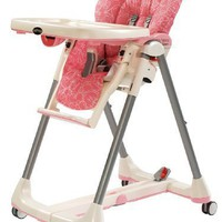 Peg-Perego 2011 Prima Pappa Diner High Chair, Naif Rose
