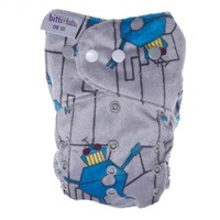 Itti Bitti Bitti Tutto One-size Cloth Diaper Limited Edition Prints (Wo-Bott)