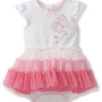Little Me Baby-girls Newborn Fun Butterfly Tutu Popover, Pink Multi, 9 Months