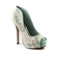 Womens Shi By Journeys Pandon Heel, Mint | Journeys Shoes
