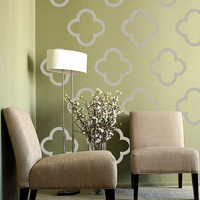 Moroccon Morif Pattern - Vinyl Wall Decal  - large wall stickers set of 36
