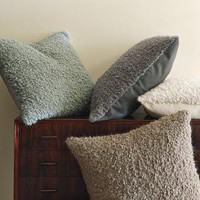Alpaca Textured Pillow Cover