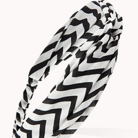 Knotted Chevron Headwrap | FOREVER21 - 1075918411