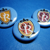 Ouran High School Host Club Logos Pinback Button Set