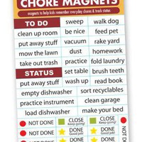 Fridgelife Chore Magnets
