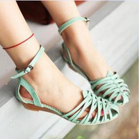 Cage Flat Sandals for Women DDE845