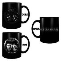 SUPERNATURAL TV SERIES Disappearing Sam & Dean Coffee MUG