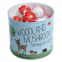 Mini Lights Woodland Mushrooms | DotComGiftShop