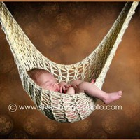NEWBORN HAMMOCK and HANGING POD Photo Prop | PhylPhil - Knitting on ArtFire