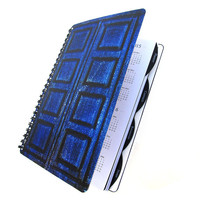 River Song 2013 - 2014 Daily Planner Dr. Who Tardis UpCycled Academic Student Agenda The Doctor
