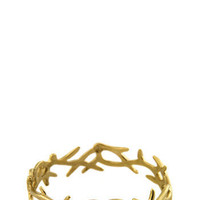 Sale -  House of Harlow 14K Gold Plated Small Antler Cuff at Coggles.com online store