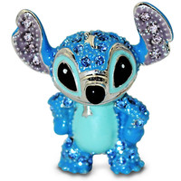 Disney Stitch Figurine by Arribas -  Jeweled Mini | Disney Store