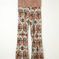 Mink Pink Printed Beach Pant at Free People Clothing Boutique