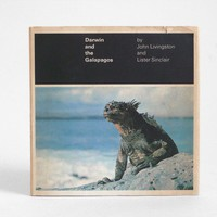 Darwin and the Galapagos Vintage Book by Hindsvik on Etsy