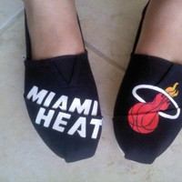 Miami Heat TOMS shoes