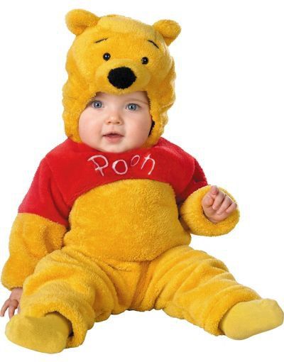 baby deluxe winnie the pooh costume from party city. Black Bedroom Furniture Sets. Home Design Ideas