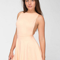 American Apparel - Ponte Sleeveless Skater Dress