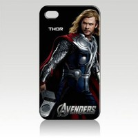 Chris Hemsworth Thor the Avengers Hard Case Skin for Iphone 4 4s Iphone4 At&t Sprint Verizon Retail Packing.
