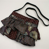 Upcycled necktie handbag purse for women / by CatherineColeStudio