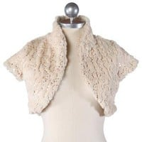 come sequins or shine faux fur bolero - $32.99 : ShopRuche.com, Vintage Inspired Clothing, Affordable Clothes, Eco friendly Fashion