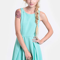 State Street Pleated Dress