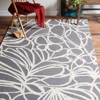 Sketch Wool Rug - Steel
