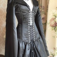 Valkyrie Prototype Bustle Corset Coat-Made For Buyer | AliceandWillow - Clothing on ArtFire