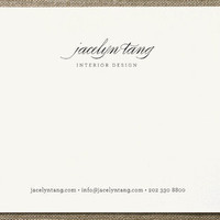 Circular Business Stationery Cards by nocciola des... at Minted.com