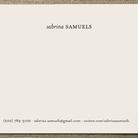 Impressionist Business Stationery Cards by nocciol... at Minted.com