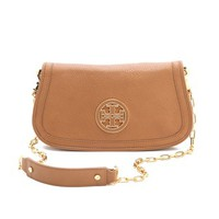 Tory Burch Amanda Logo Clutch | SHOPBOP | Use Code: EXTRA25 for 25% Off Sale Items