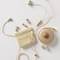 Butterfly Lovers Earbuds-Anthropologie.com